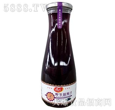 真心野生蓝莓汁1L