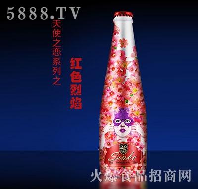 红色烈焰气泡酒350ml