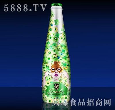 绿色青春气泡酒350ml