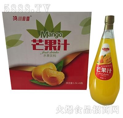 1.5lx6瓶川府雪芒果汁