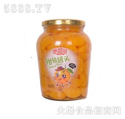 德盛恒900g橘子罐头