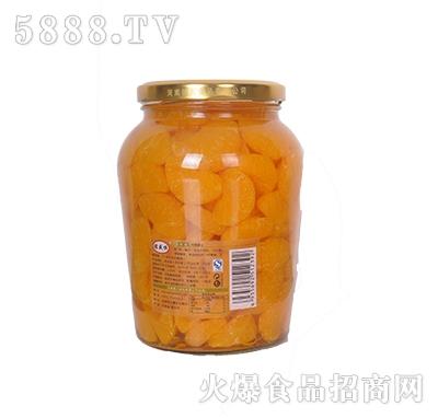 德盛恒900g橘子罐头反面