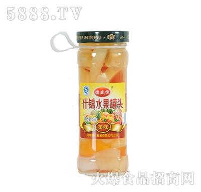 德盛恒450g什锦水果罐头