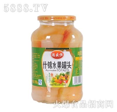德盛恒700g什锦水果罐头