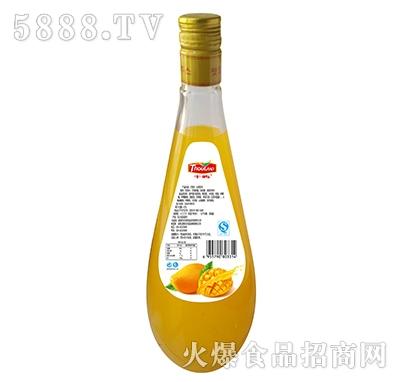 千屿芒果大瓶背面