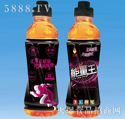 红乐能量王运动饮料(黑)550ml×15瓶