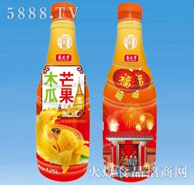 养生季木瓜芒果果汁饮料1.25l