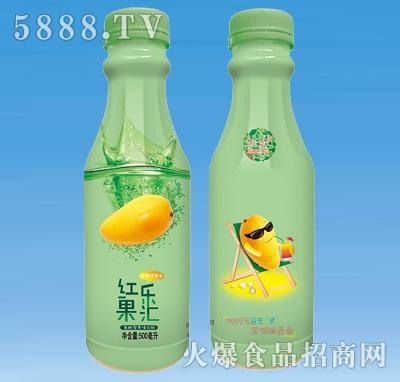 红乐果汇芒果&苹果果汁饮料500ml