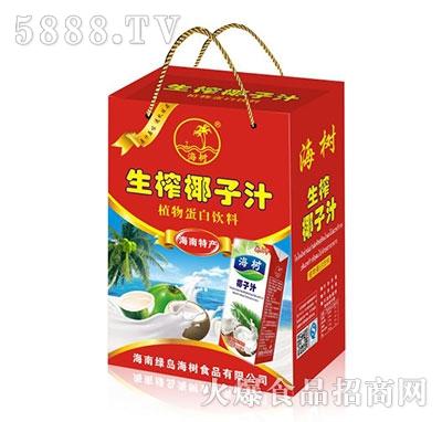 海树生榨椰子汁手提箱