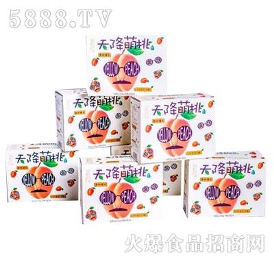 天降萌桃罐头425gx12罐