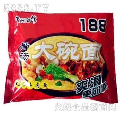 大碗面188红烧牛肉面(袋)