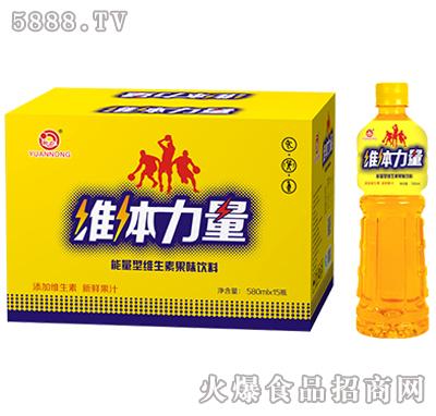 580mlx15瓶源农维体力量维生素果味饮料