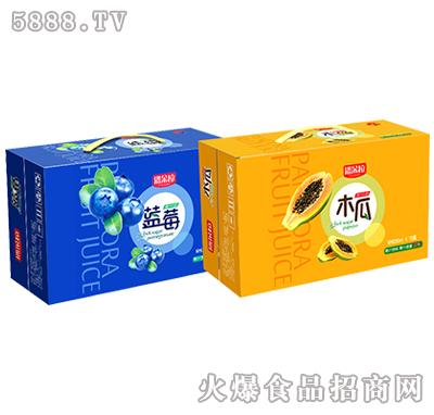 潘多拉蓝莓果汁饮料礼盒
