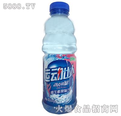 运动达人维生素果味饮料水蜜桃味600ml