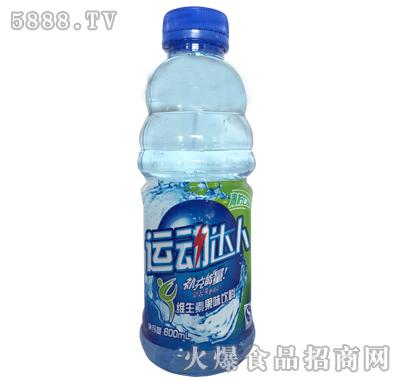 运动达人维生素果味饮料青柠味600ml