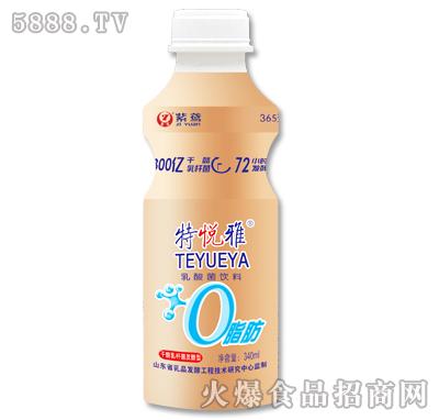 紫鸢特悦雅乳酸菌饮料340ml