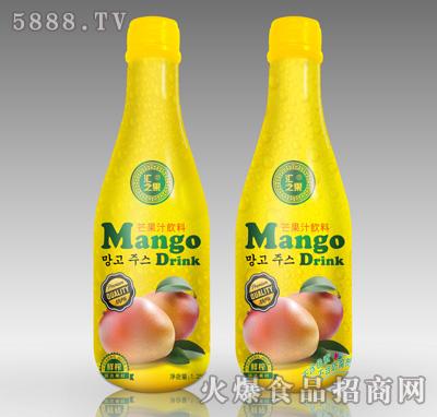 1.25L汇之果芒果汁饮料瓶产品图