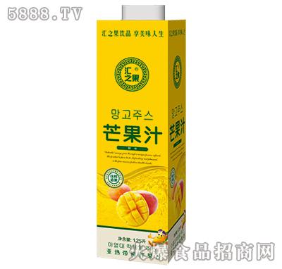 1.25L汇之果芒果汁饮料产品图