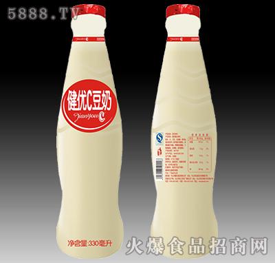 健优C豆奶植物蛋白饮料330ml产品图