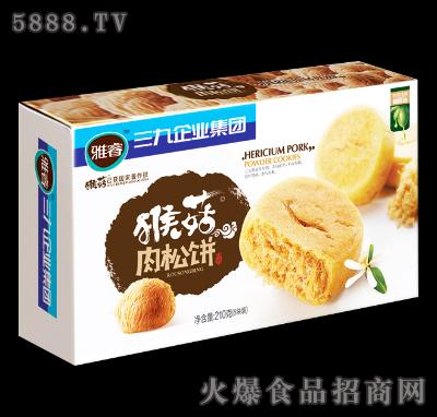 雅睿猴菇肉松饼210g