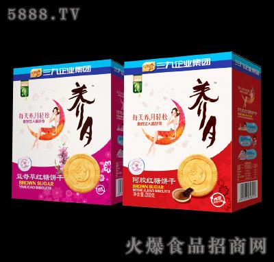 养月益母草-阿胶红糖饼干200g