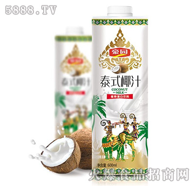 600ml豪园泰式椰汁方盒
