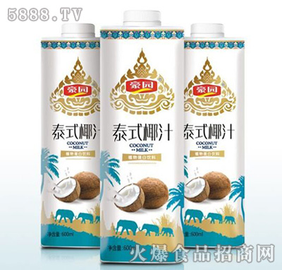 600ml豪园泰式椰汁