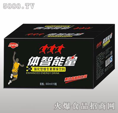 600ml×15瓶金娇阳体智能量强化型维生素果味饮料