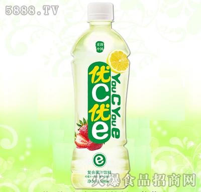 优C优E复合果汁饮料--草莓