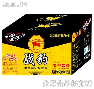 战豹维生素功能饮料450ml×15瓶