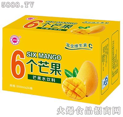 庞师傅6个芒果水饮料产品图