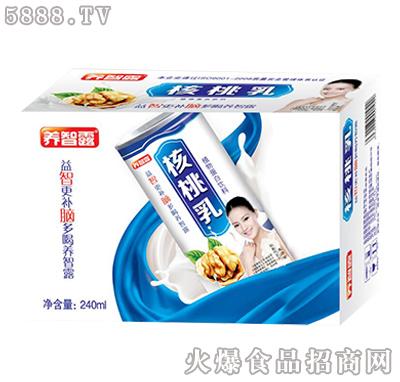 养智露核桃乳植物蛋白饮料240ml
