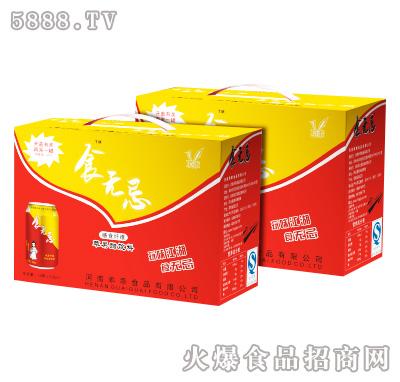 食无忌膳食纤维苹果醋饮料318ml×12罐