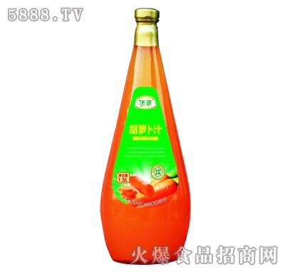 顶乖胡萝卜汁1.5l
