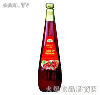 顶乖鲜果榨汁山楂汁828ml