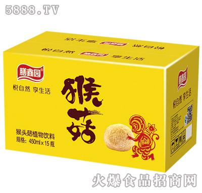 450ml×15瓶膳鑫园猴姑果汁饮料