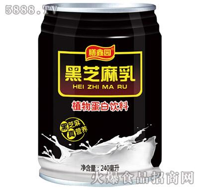 膳鑫园黑芝麻乳植物蛋白饮料240ml