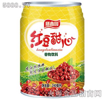膳鑫园红豆甜心谷物饮料240ml
