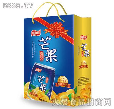 膳鑫园芒果汁饮料手提袋