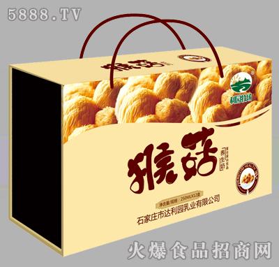 利园牧场猴菇养生奶250mlX12盒(木盒)