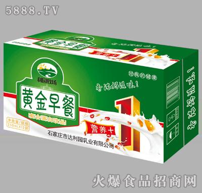 利园牧场黄金早餐复合蛋白饮品250mlX12袋