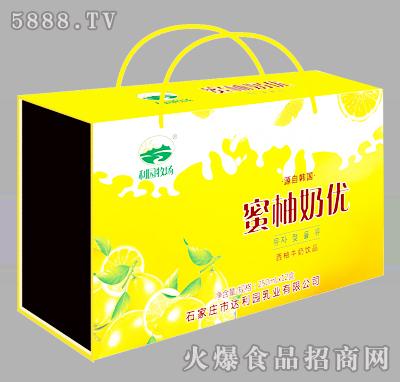 利园牧场西柚牛奶饮品250mlX12盒(木盒)
