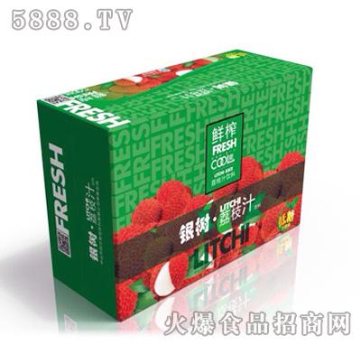 银树荔枝汁饮料箱装