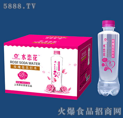 360mlx20瓶源农玫瑰花苏打水