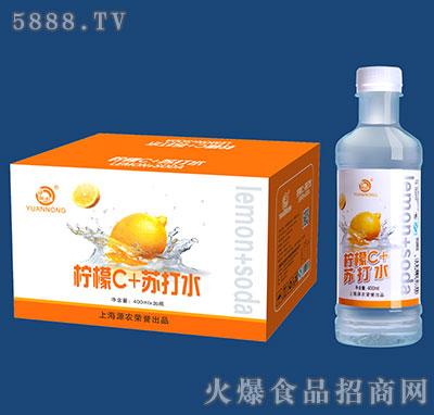 400mlx20瓶源农柠檬苏打水