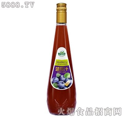 伊思特蓝莓汁饮料828ml产品图