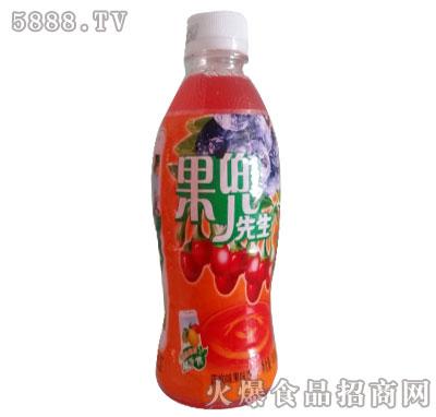 果兜先生蓝枸味果汁饮料