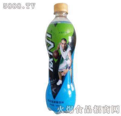 威卡力运动型碳酸饮料500ml柠檬味