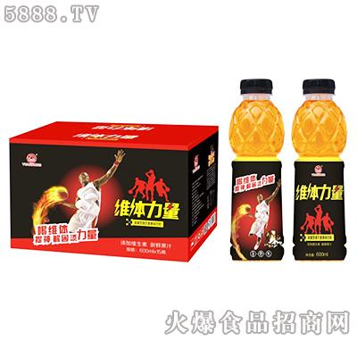 600ml×15瓶维体力量能量型维生素果味饮料