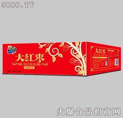 冠牧大红枣乳味饮品200ml×18袋